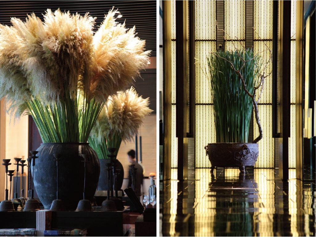 .上海璞麗酒店 開幕花藝設計