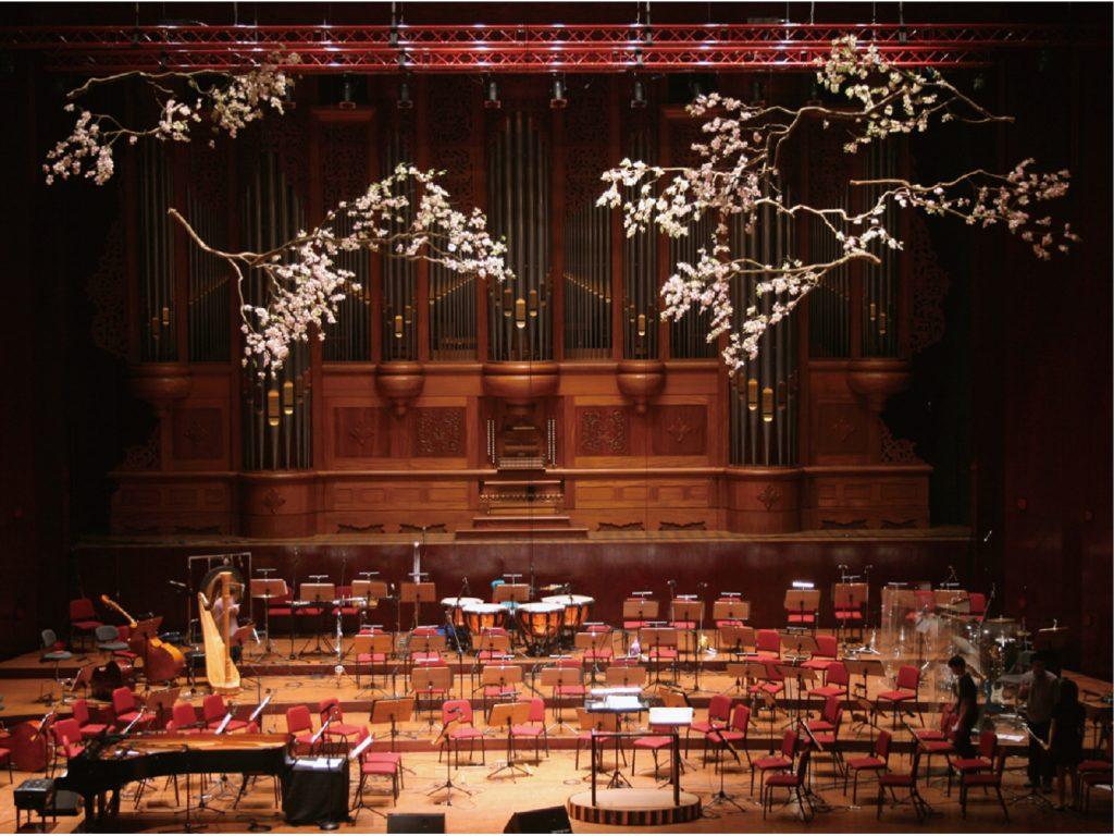 .海莉演唱會 國家音樂廳 花藝設計