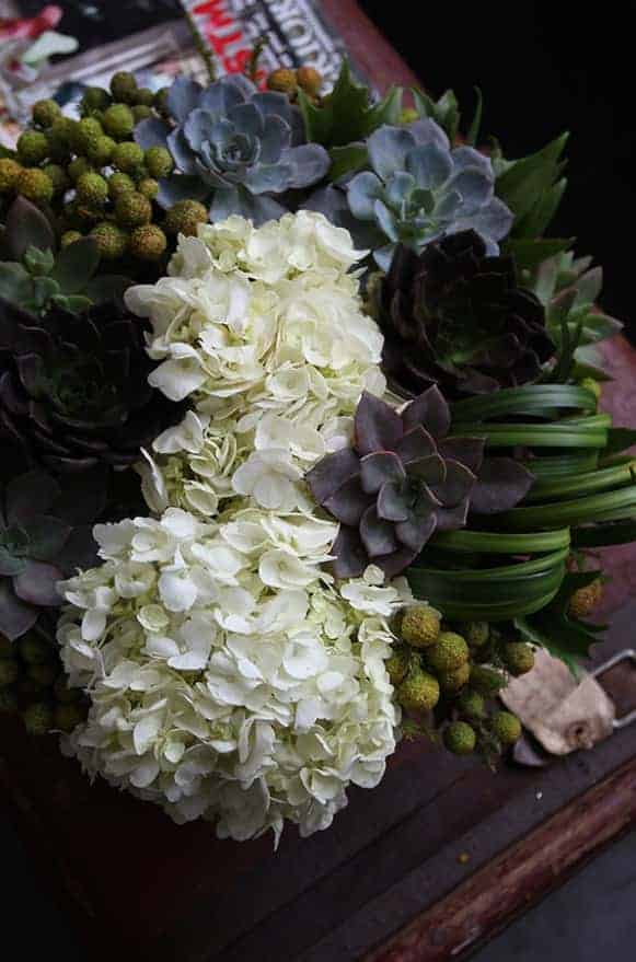 A02GLWG07白繡石蓮圓淺盤盆花5000-4