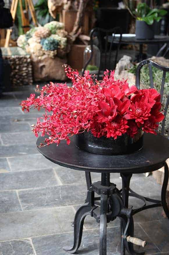 A02GLRR02瑞禧大紅盆花5000-3