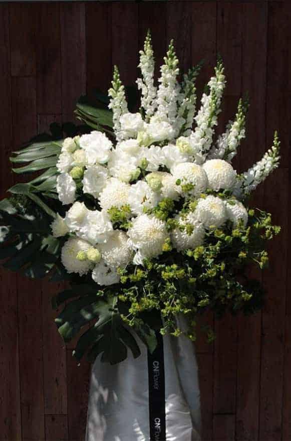 A06TTWW01高貴典雅白色牡丹菊高架3500 (3)
