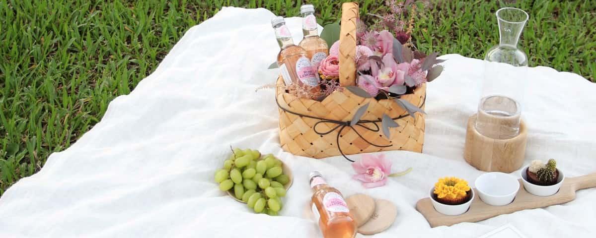 派對野餐禮物籃