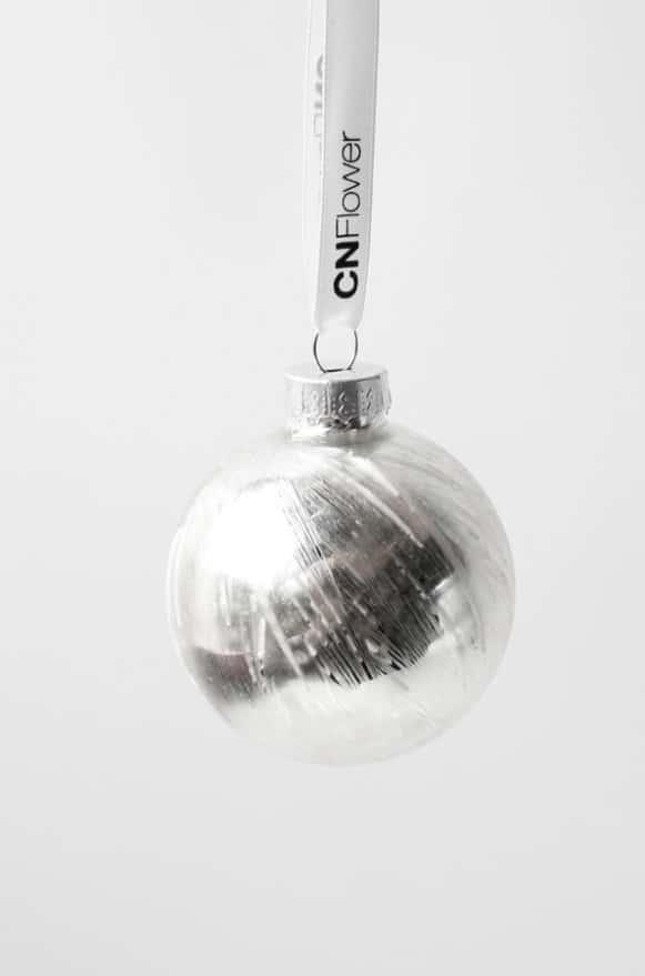 10A500005銀白亮球吊飾 (2)