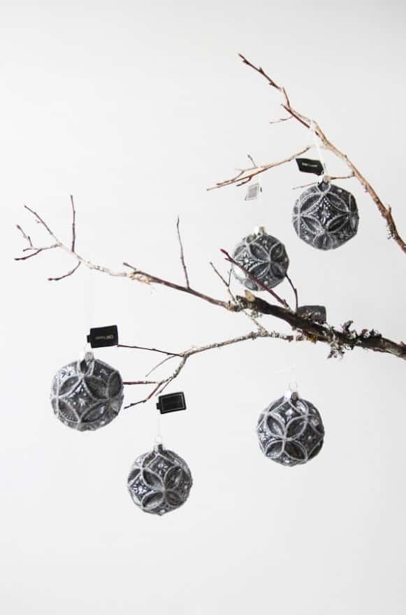 10A500017黑色花樣球型吊飾 (3)