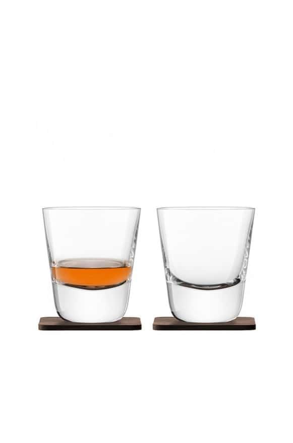 LSA-G121209301威士忌杯含木墊2入