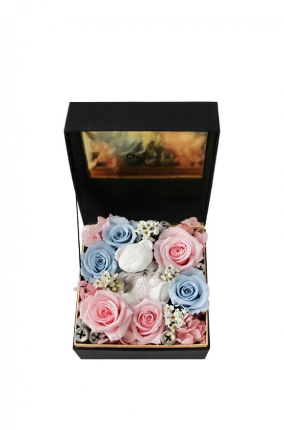 A12GLFF14甜蜜寶貝 香氛小熊禮盒3600-1