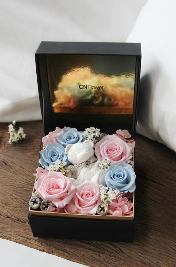 A12GLFF14甜蜜寶貝 香氛小熊禮盒3600-2