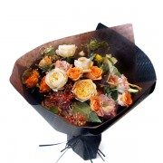 A10HW1808輕柔秋陽 甜筒花束2800 (1)