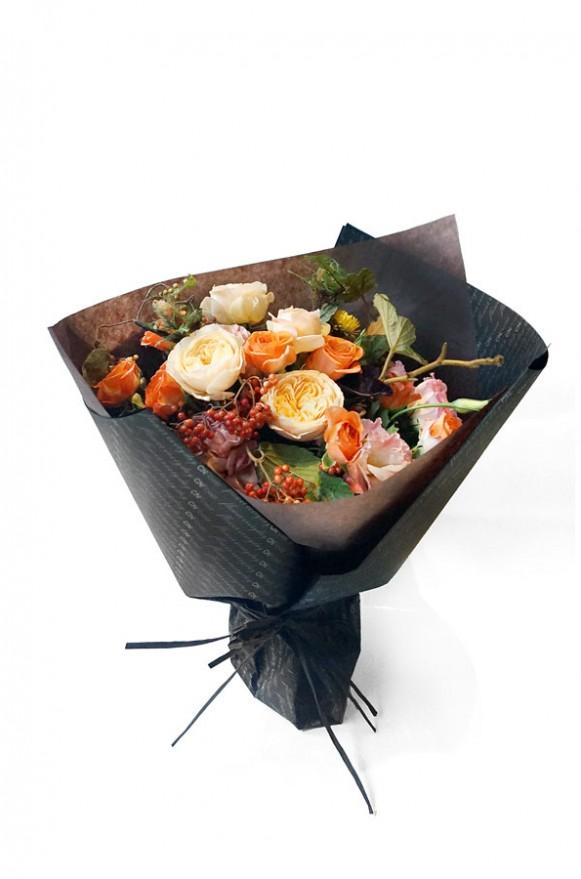 A10HW1808輕柔秋陽 甜筒花束2800 (6)