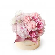 A10MD1901甜在馨 小粉圓鮮花禮盒 2800-1