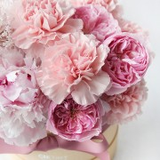 A10MD1901甜在馨 小粉圓鮮花禮盒 2800-2