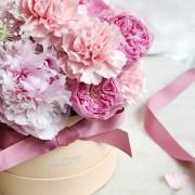 A10MD1901甜在馨 小粉圓鮮花禮盒 2800-5