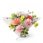 A10MD1916【CNFlower x 珠寶盒法式點心坊 】甜蜜生活- 康乃馨款 蛋糕花禮 2880-3