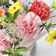 A10MD1916【CNFlower x 珠寶盒法式點心坊 】甜蜜生活- 康乃馨款 蛋糕花禮 2880-4