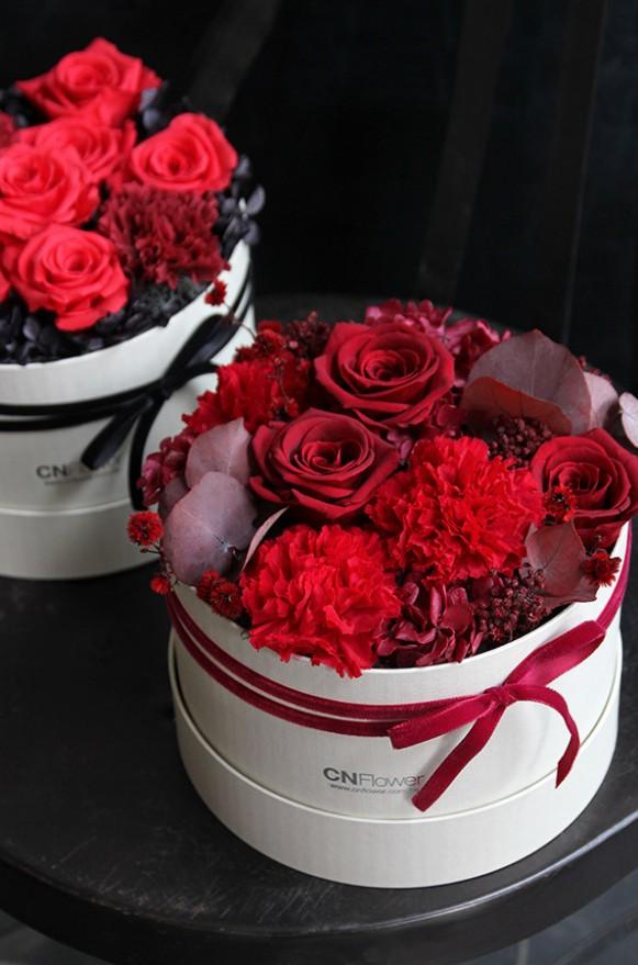 A12GLRR23馨心相印- 紅恆星蛋糕禮物花3800-3