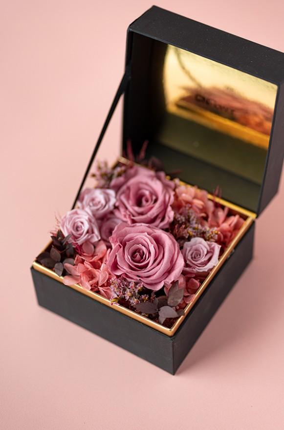 C0100190794珠寶盒花園- 情迷 恆星花(粉))3800-2