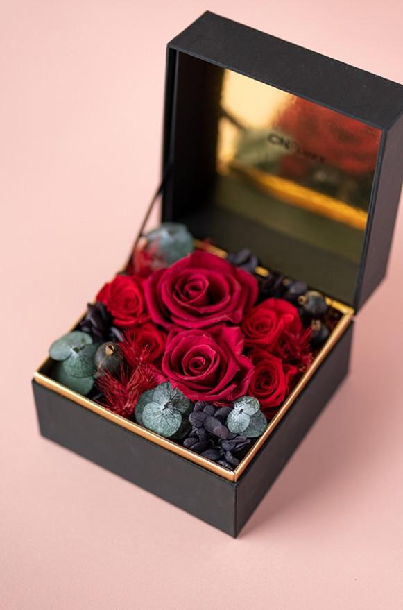 C0100190795珠寶盒花園- 情迷 恆星花 (紅)3800-2