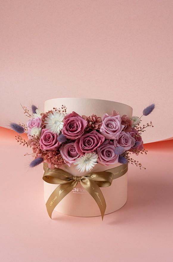 C0100190798_心花開恆星花禮盒 紅粉黑_4500 (5)