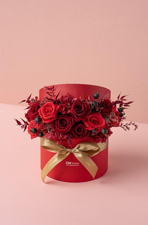 C010019079_心花開恆星花禮盒 紅粉黑_4500 (5)