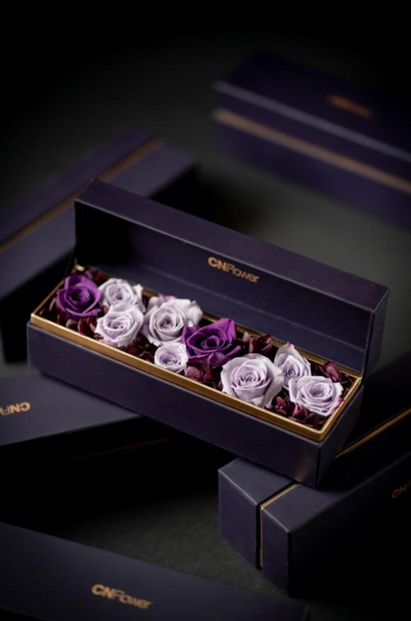 C0100190905四入黑金禮盒- 紫寶石 恆星花_2380(1)