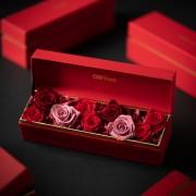 C0100190906四入黑金禮盒- 紅寶石 恆星花_2380(1)