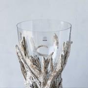 SCH-45379漂流木口吹玻璃花器(H47)_24800 (2)