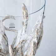 SCH-45379漂流木口吹玻璃花器(H47)_24800 (4)