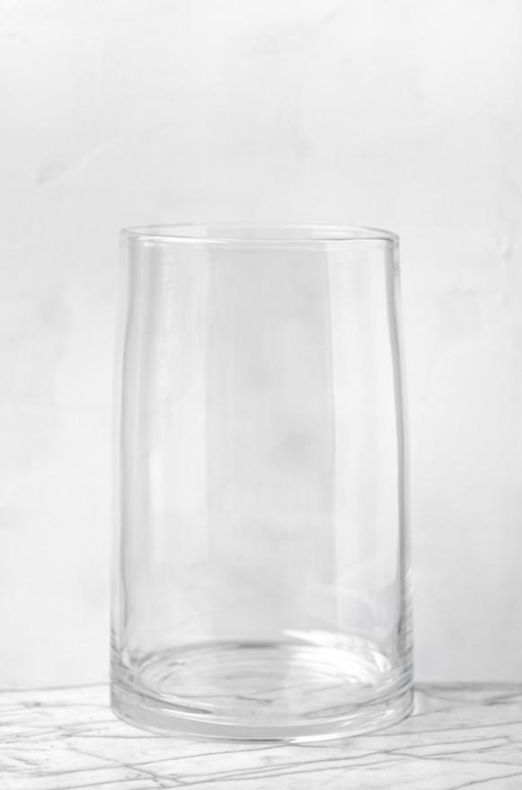 LSA-G157442301_曲線收口玻璃花器(透明H42)_8800 (1)