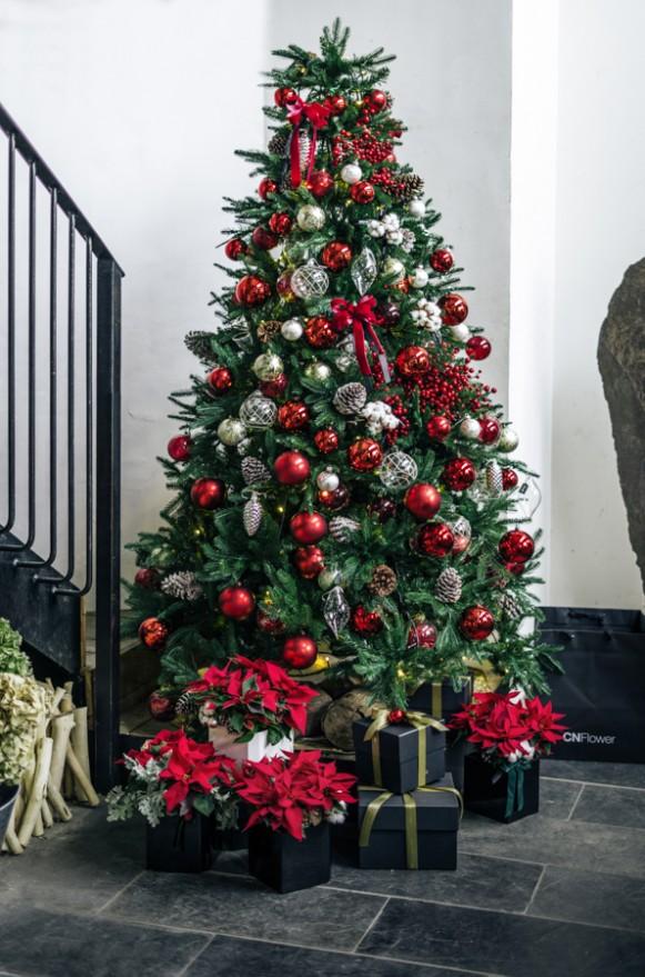 A0602191202 CN人造諾貝松聖誕樹6呎-10呎 (1)