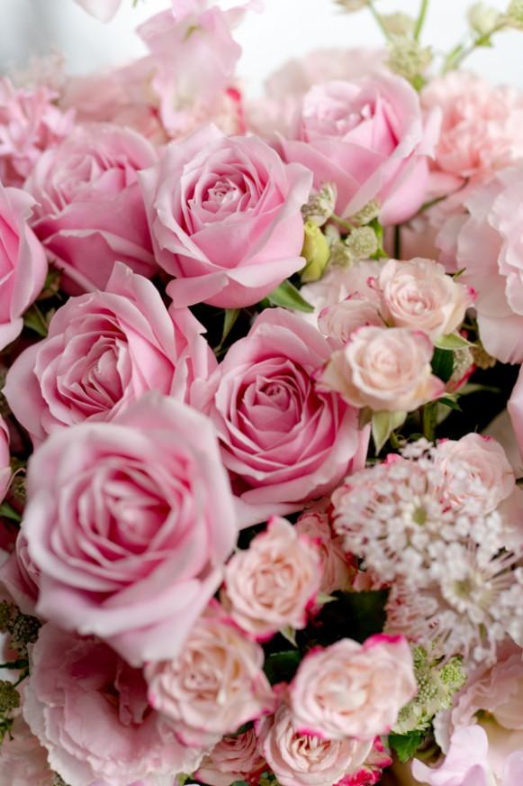 粉紅泡泡-鮮花禮盒(大) (6)
